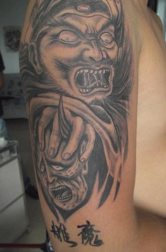 白城纹身雕魔馆