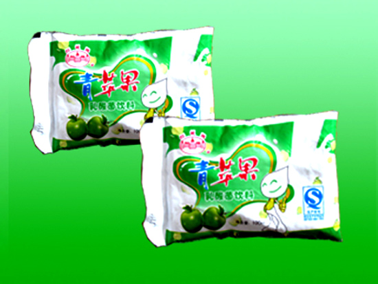 [点击放大]             产品名称 青苹果乳饮料 品牌商标